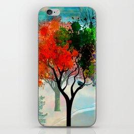 Lavish Abstract Landscape iPhone Skin