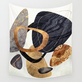 Abstract Pebbles III Wall Tapestry