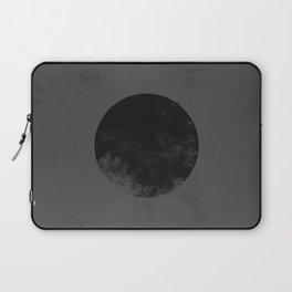 Black Japan Flag Laptop Sleeve