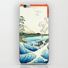 The Great Wave. The Sea At Satta iPhone Skin