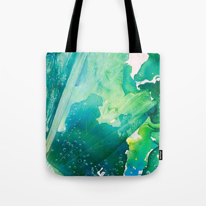 Environmental Importance, Deep Sea Water Bubbles Tote Bag