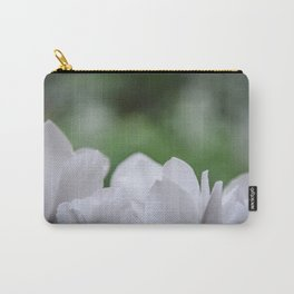 Silvery Detail Carry-All Pouch