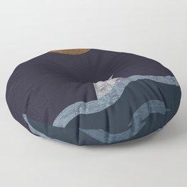 Midnight Shark Floor Pillow