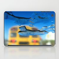 sia iPad Cases featuring yellow bus and ice photography  by Antoine