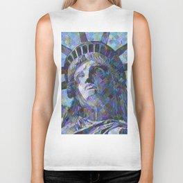 Lady Liberty Biker Tank