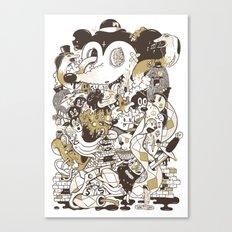con$umer Canvas Print
