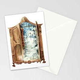 Narnia Wardrobe Stationery Cards