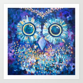 Visions in the Night Art Print