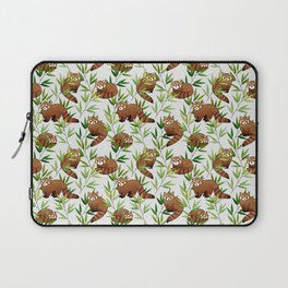 Red Panda Pattern Laptop Sleeve