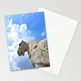 Ancient Warhorse Stationery Cards