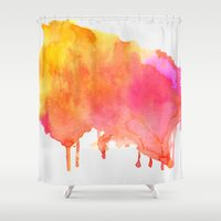 splash Shower Curtains featuring Splash #society6 #buyart #decor by 83 Oranges™