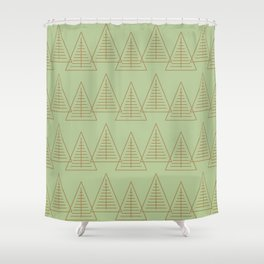 Winter Hoidays Pattern #10 Shower Curtain