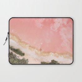 iOS 11 Rose Gold iPad background Laptop Sleeve