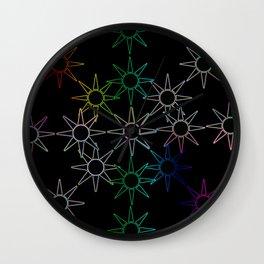 Sun star Wall Clock