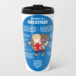 ANATOMY OF A BREXITEER Travel Mug