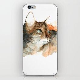 cat#10 iPhone Skin