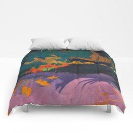 "Paul Gauguin ""Fatata te Miti (By the Sea)"" Comforters"