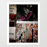 Viva L'Amour Art Print