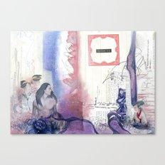 Memories of Snow Canvas Print
