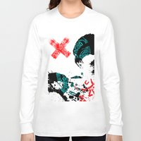 chaos Long Sleeve T-shirts featuring Chaos by Callan Convery Design