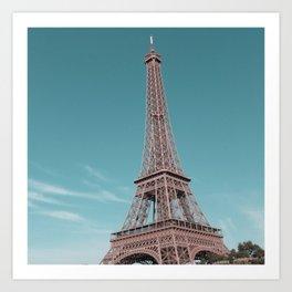 paris, france, eiffel tower Art Print