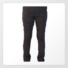 Online Women's Jeans Art Print