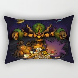 A treasure for Halloween Rectangular Pillow