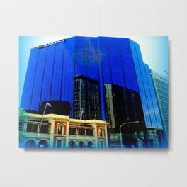Reflections - Adelaide CBD Metal Print