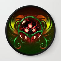metroid Wall Clocks featuring Metroid by likelikes