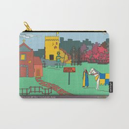 Afternoon at the Medieval Age Carry-All Pouch