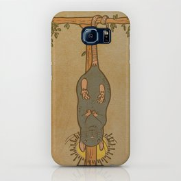 Muroidea Rat Tarot- The Hanged Man iPhone Case