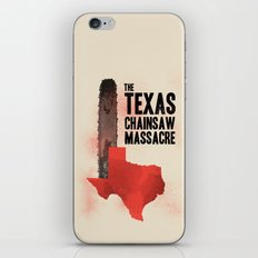 Texas chainsaw massacre iPhone & iPod Skin