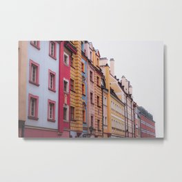 Streets of Wrocław Metal Print