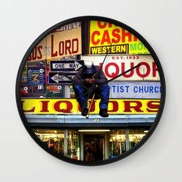 Deductions Wall Clock