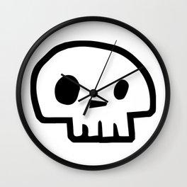 Skullie Stix Wall Clock