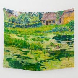 Václav Radimský (1867-1946) Summer Mood Impressionist Landscape Oil Painting Wall Tapestry
