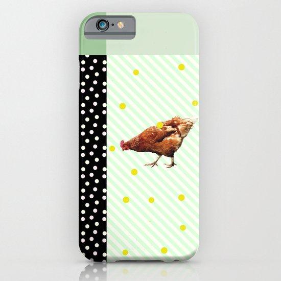 Une poule iPhone & iPod Case