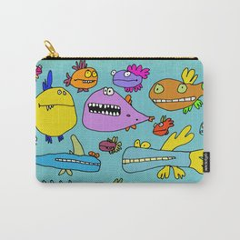 Funky Fish of the Outer Banks Carry-All Pouch