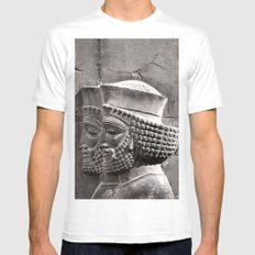 Persian Guards Mens Fitted Tee White MEDIUM