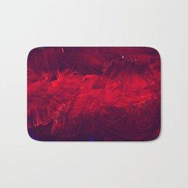 Cool Red Duvet Cover Bath Mat