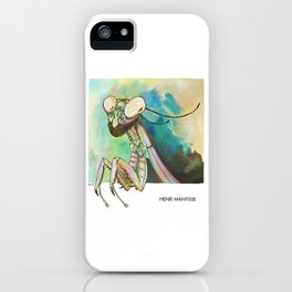 Henri Mantisse iPhone Case