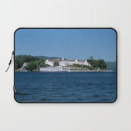 The Sagamore Hotel & Lac du Saint Sacrement Steamboat Laptop Sleeve