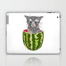 Kitty Cat Watermelon Laptop & iPad Skin