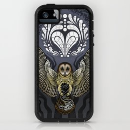 Owl Deck: Ace of Hearts iPhone Case