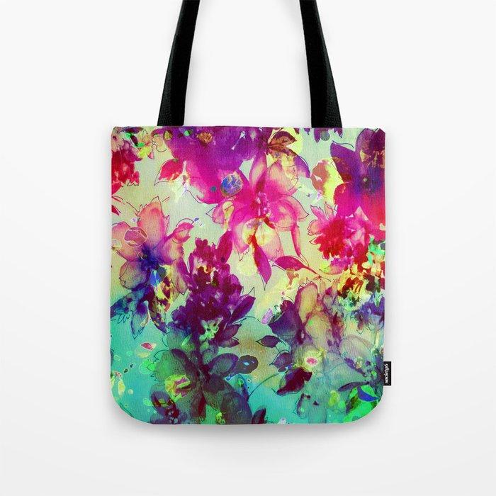 luminous bouquet Tote Bag