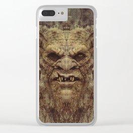 Baphomet Clear iPhone Case