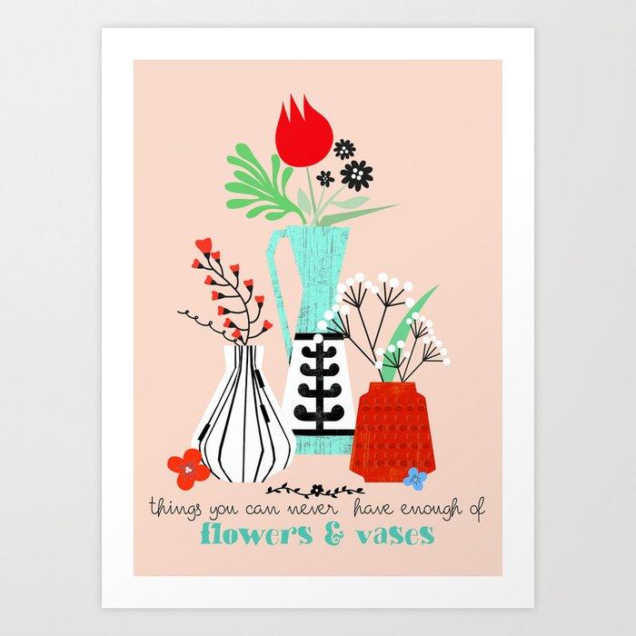 Flowers & Vases Kunstdrucke