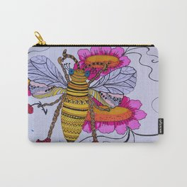 Beautiful bee Carry-All Pouch