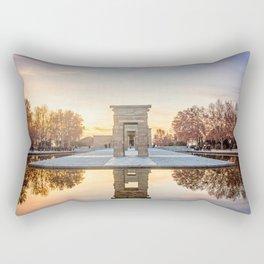 Temple of Debod, Madrid Rectangular Pillow