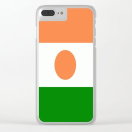 Flag of Niger Clear iPhone Case